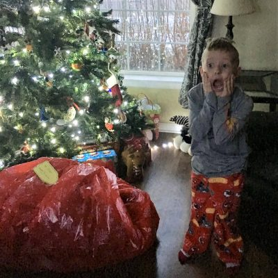 Excitement: Through the Eyes of a Child